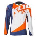 Klim marškinėliai XC oranžiniai