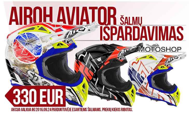 Airoh Aviator po 330 EUR