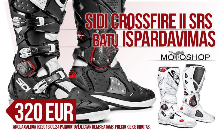 Sidi Crossfire II SRS 320 EUR