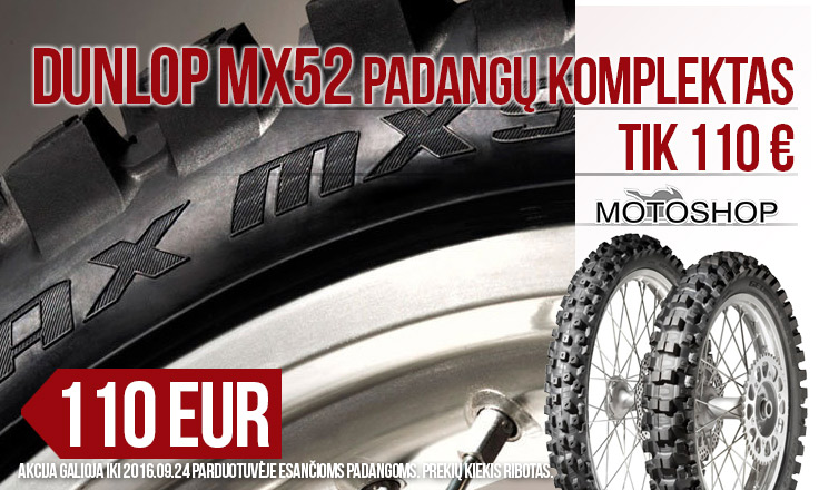 Dunlop MX52 po 110